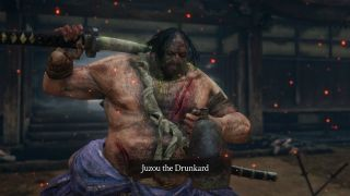 Sekiro Juzou the Drunkard boss guide