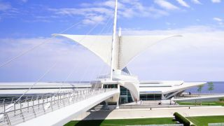 Famous buildings: Milwaukee Museum, Wisconsin