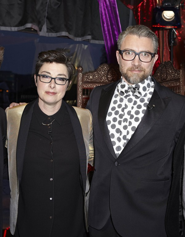 Sue Perkins and Jamie East