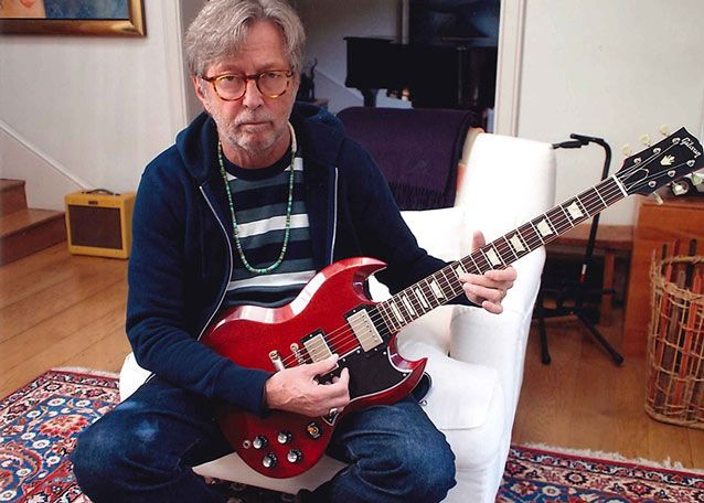 Eric Clapton's Guitars Up for Sale—Gruhn Guitars Offers 29