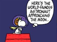 Snoopy Celebrates 40th Anniversary of His Moon Flight