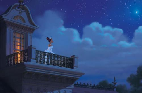 The Princess and the Frog - Tiana (voiced by Anika Noni Rose) has big dreams in Disney's animated musical