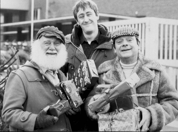 Only Fools And Horses stars Buster Merryfield, Nicholas Lyndhurst and David Jason