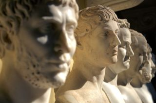 Roman busts at the Vatican