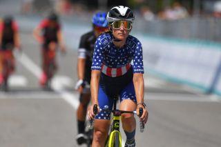 US road champion Lauren Stephens (TIBCO-Silicon Valley Bank)