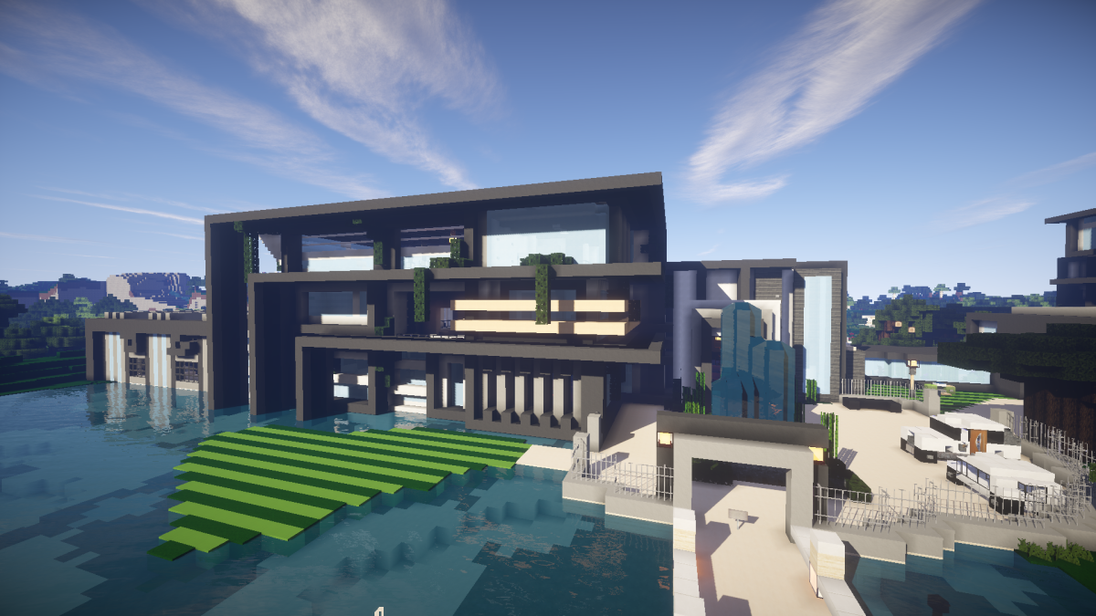 Best Minecraft Mansion List Download These Woodland Modern Easy