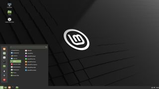Screenshot of Linux Mint 20's Cinnamon Desktop
