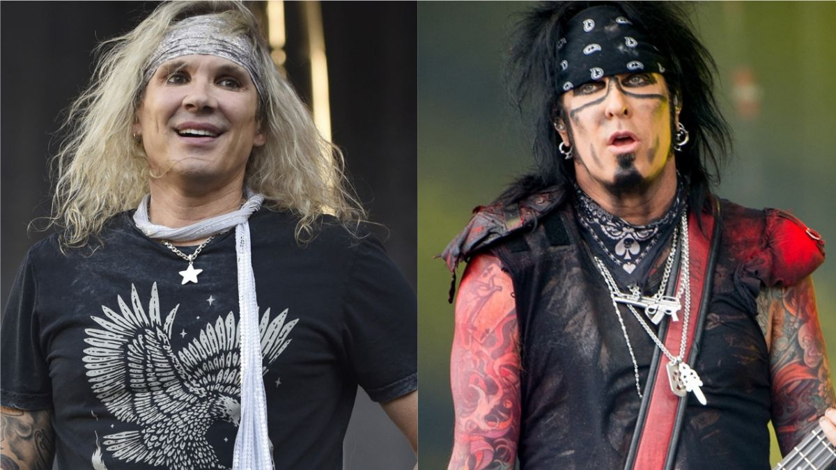"""Steel Panther's Michael Starr hopes spat with Nikki Sixx was just a """"blip"""""""