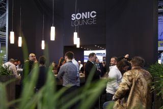 Meyer Sound's Sonic Lounge at ISE