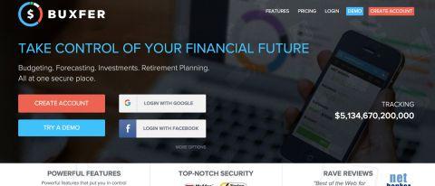 Buxfer personal finance