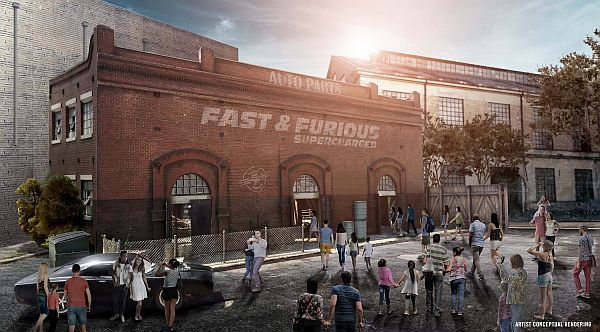 Fast & Furious Supercharged Ride