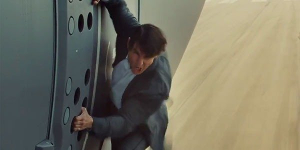 The Crazy Way Tom Cruise Had To Film A Mission: Impossible Fallout Plane Jumping Stunt