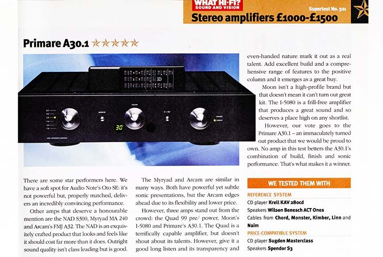 The best 19 stereo amplifiers of What Hi-Fi?'s lifetime