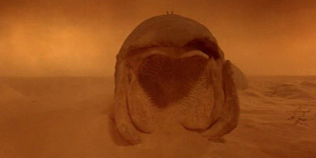Sandworm from 1984 Dune movie