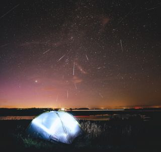 2015 Perseid Meteor Shower in the Danish Sky