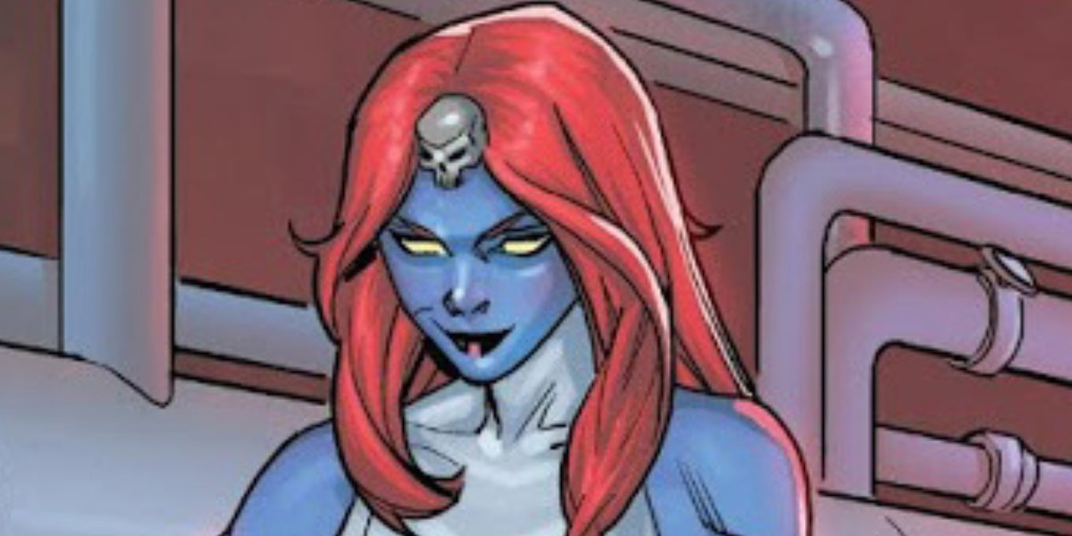 Raven Darkholme is Mystique