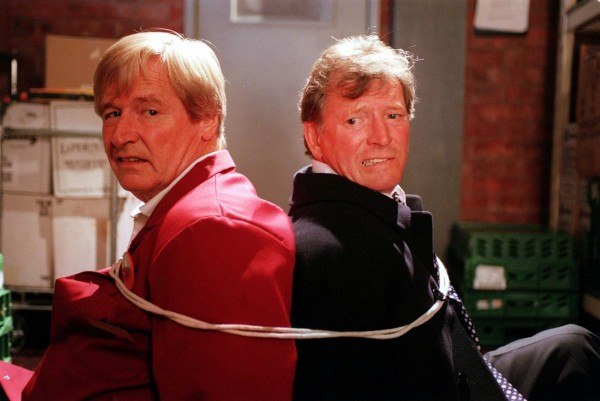 William Roache in Corrie