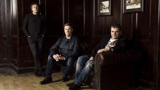 Pete Trewavas, Craig Blundell and John Mitchell