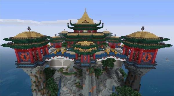 Minecraft Japanese Gate