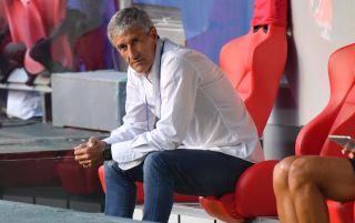 Quique Setien, Barcelona manager