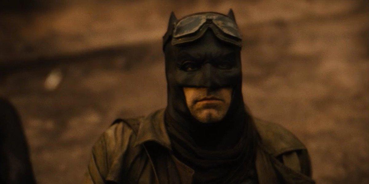 Ben Affleck's Batman in Snyder Cut Knightmare