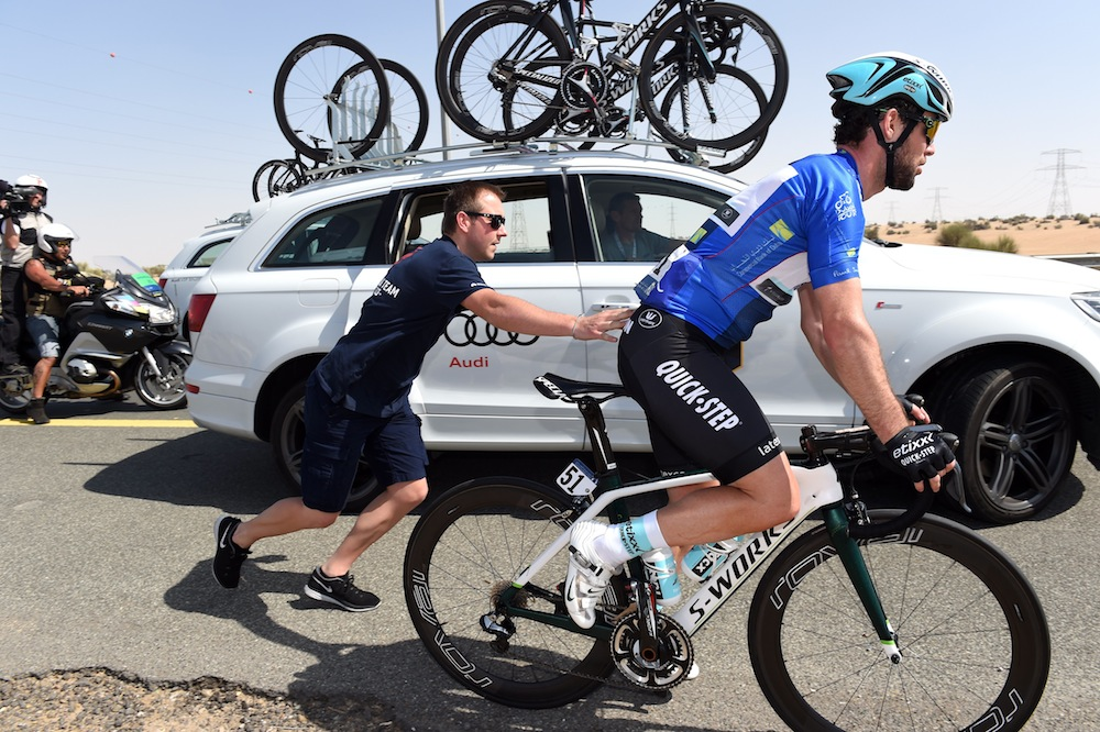 Mark Cavendish spotted riding with Shimano Dura-Ace ...