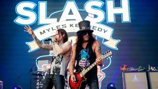 Myles Kennedy and Slash