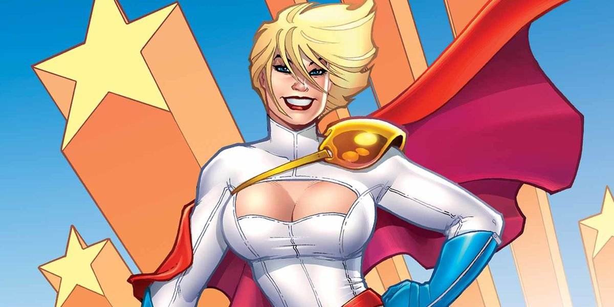 Fellow Kryptonian Power Girl