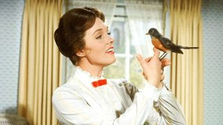 Julie Andrews in _Mary Poppins._