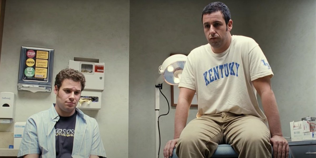Seth Rogen and Adam Sandler in Funny People