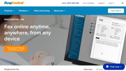 RingCentral Fax 1