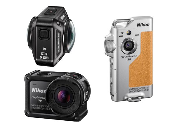 Three new action cam options from Nikon