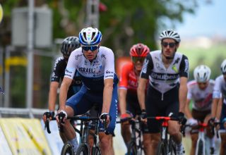 Chris Froome (Israel Start-Up Nation) finished in a chase group at theCriterium du Dauphine