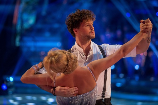 Jay McGuiness and Aliona Vilani in Strictly