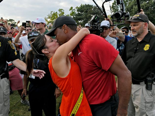 Girlfriend who tiger is woods herman erica Who Is