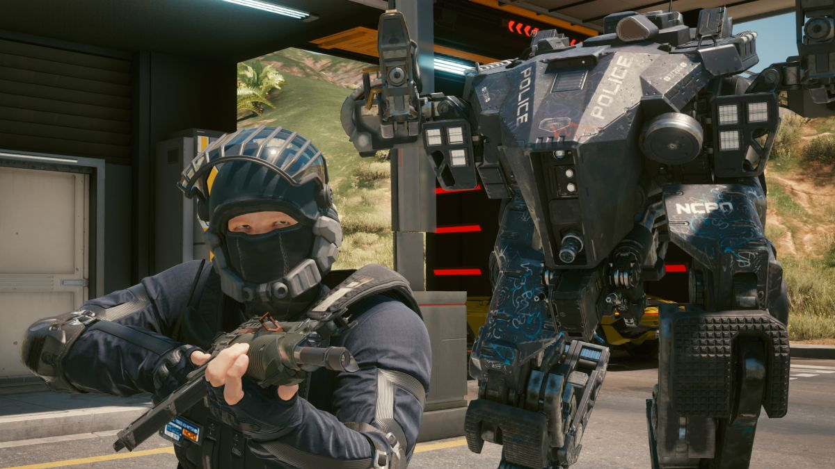 Cyberpunk 2077 hotfix stops cops from teleporting behind you throughout roof crimes