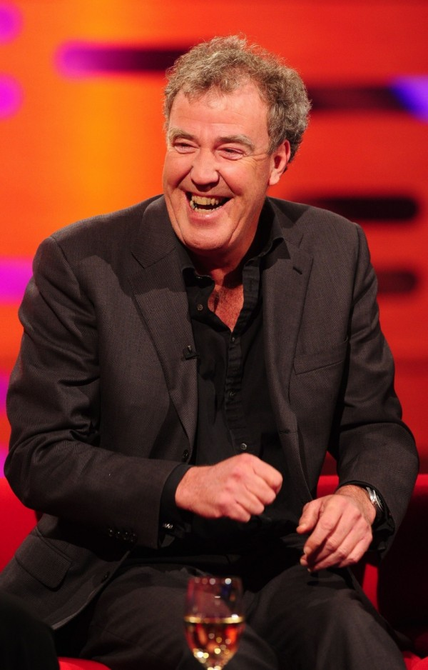 Jeremy Clarkson grabbed his chance to kick Piers Morgan when he was down (Ian West/PA)