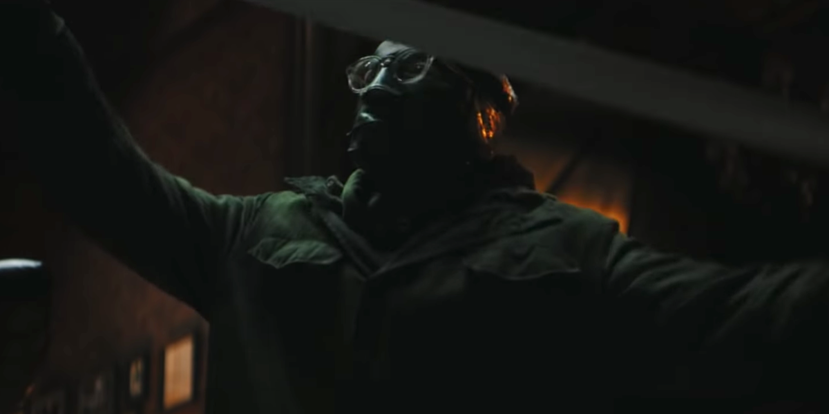 Riddler in The Batman's first trailer