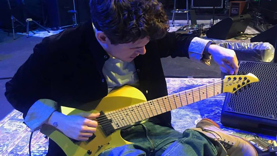 John Mayer playing eight-string blues on Tosin Abasi's guitar will blow your mind
