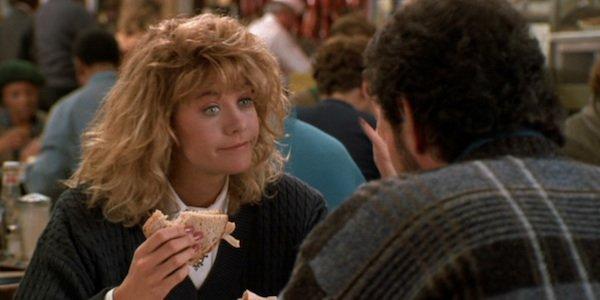 Meg Ryan in When Harry Met Sally...