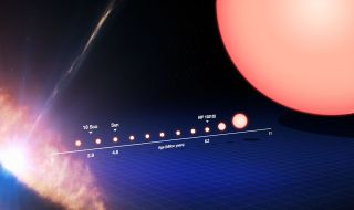 Life Cycle of a Sun-Like Star (Annotated)