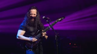 Guitarist John Petrucci performs in concert with G3 at ACL Live on January 27, 2018 in Austin, Texas