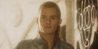 Orlando Bloom in LOTR early in his career