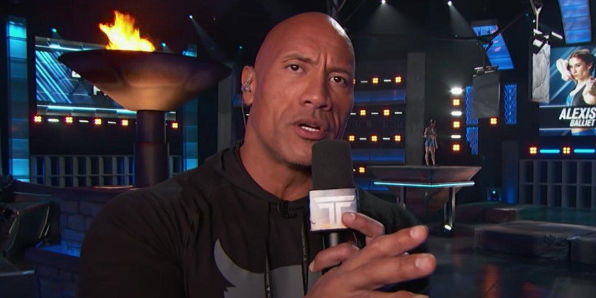 Dwayne Johnson on The Titan Games (2019)