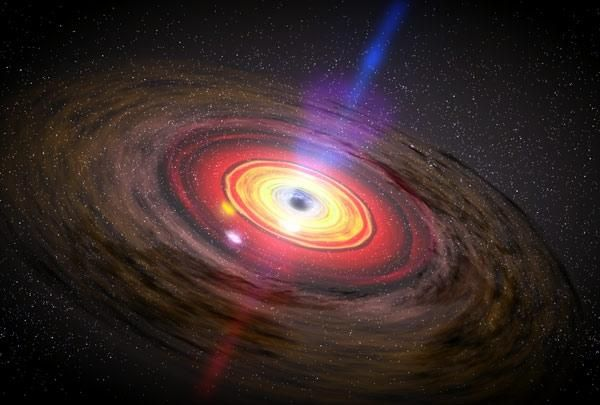 Surprise discovery suggests that black holes are more complex than thought