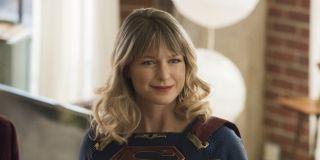 Supergirl (Melissa Benoist) smiles on Supergirl