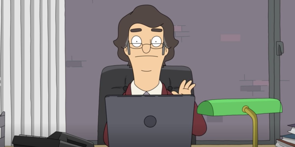 John Oliver as Ian Amberson on Bob's Burgers