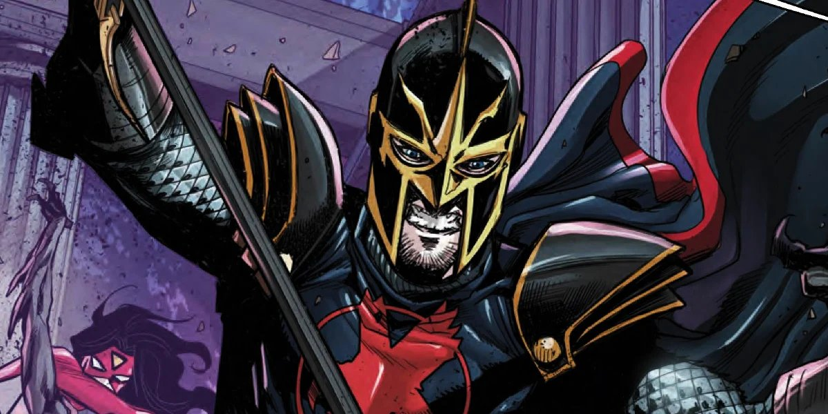 The Black Knight from Marvel Comics