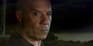 Vin Diesel glaring in The Fate of the Furious