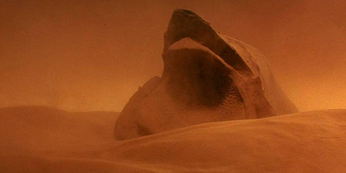 Sandworm in Dune (1984)